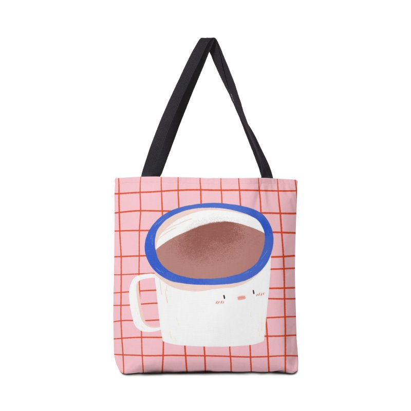 Hot Choc Accessories Tote Bag Bag by Tina Tamay