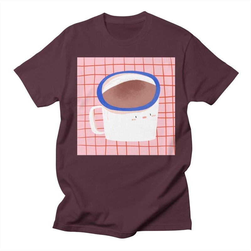 Hot Choc Men's Regular T-Shirt by Tina Tamay