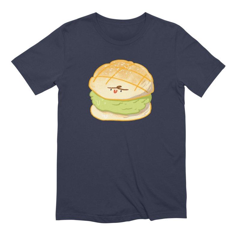 Meronpan matcha ice cream Men's Extra Soft T-Shirt by Tina Tamay