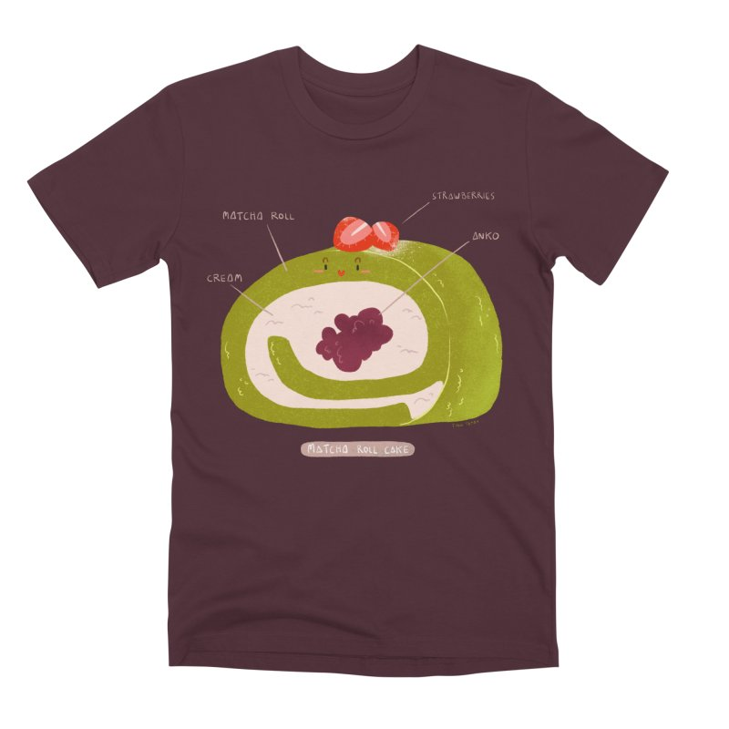 Matcha Roll Men's T-Shirt by Tina Tamay