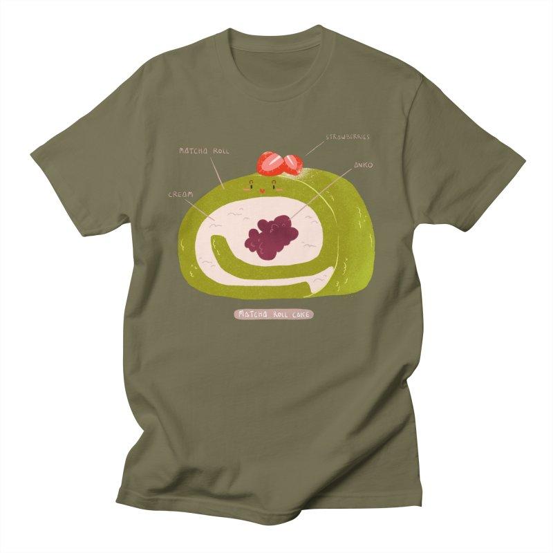 Matcha Roll Men's T-Shirt by Tina Tamay