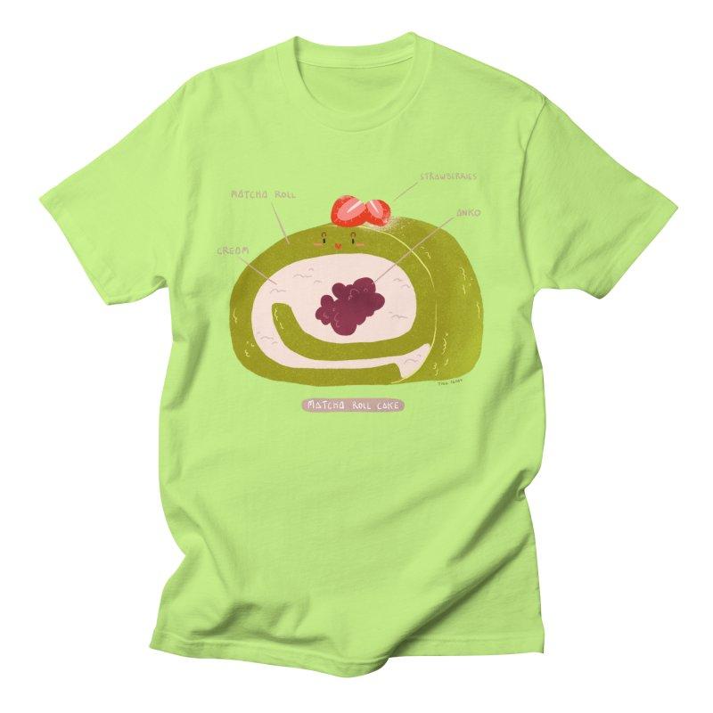 Matcha Roll Men's Regular T-Shirt by Tina Tamay
