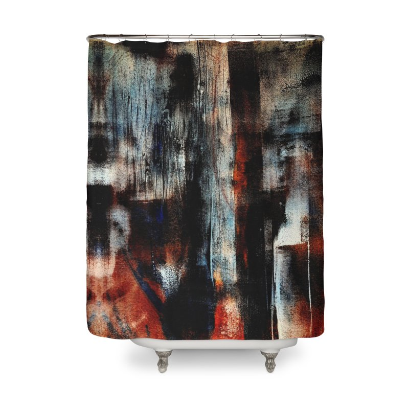 Dissonance 01 Home Shower Curtain by Tiny Bakery