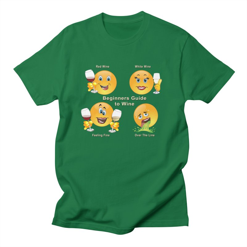 Beginners guide to wine Men's T-Shirt by tinymystic's Artist Shop