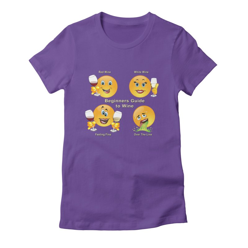 Beginners guide to wine Women's T-Shirt by tinymystic's Artist Shop