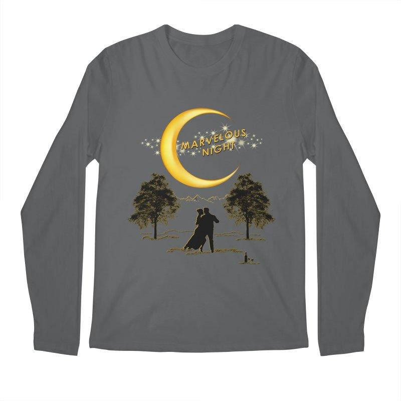 Marvelous Night Men's Longsleeve T-Shirt by tinymystic's Artist Shop