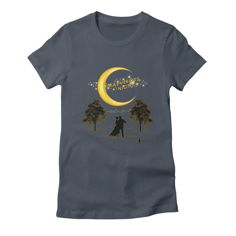 Marvelous Night Women's T-Shirt by tinymystic's Artist Shop