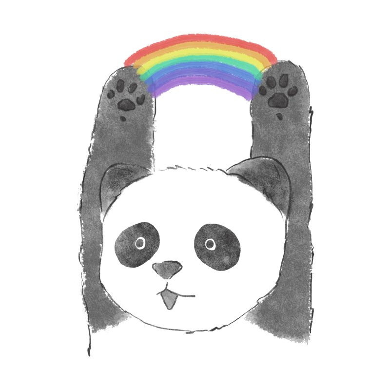 Panda Beam by tipsyeyes's Artist Shop