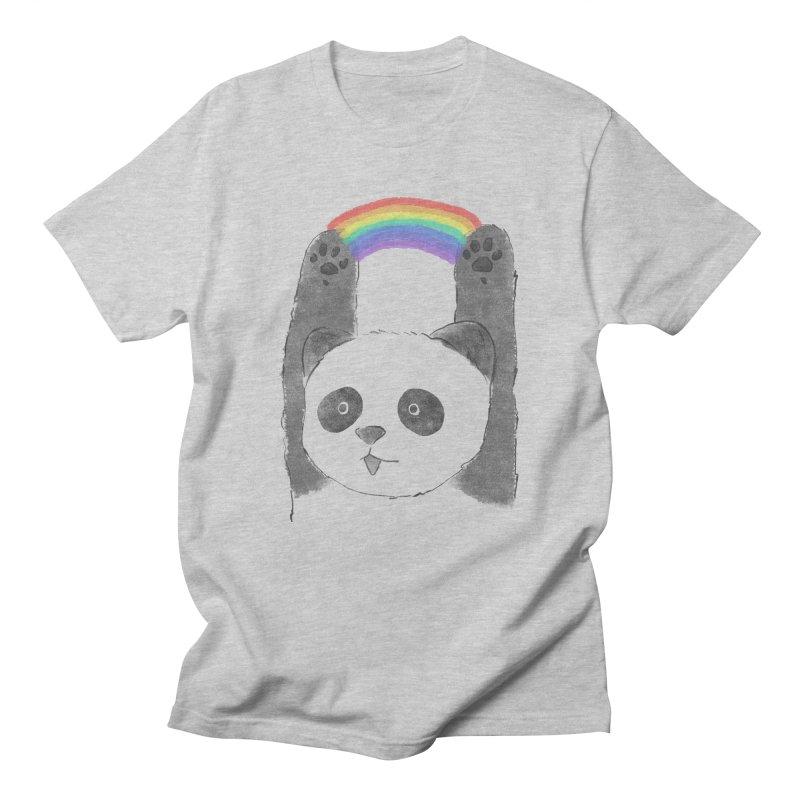 Panda Beam Men's T-shirt by tipsyeyes's Artist Shop