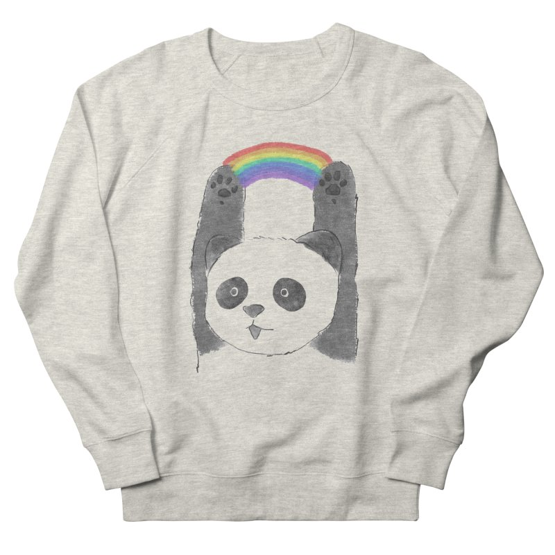 Panda Beam Men's Sweatshirt by tipsyeyes's Artist Shop