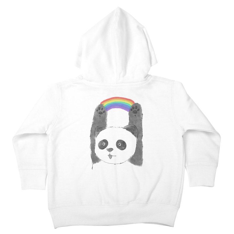 Panda Beam Kids Toddler Zip-Up Hoody by tipsyeyes's Artist Shop