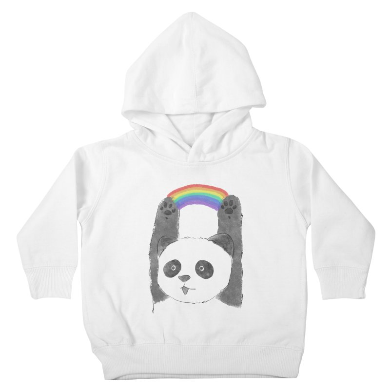 Panda Beam Kids Toddler Pullover Hoody by tipsyeyes's Artist Shop