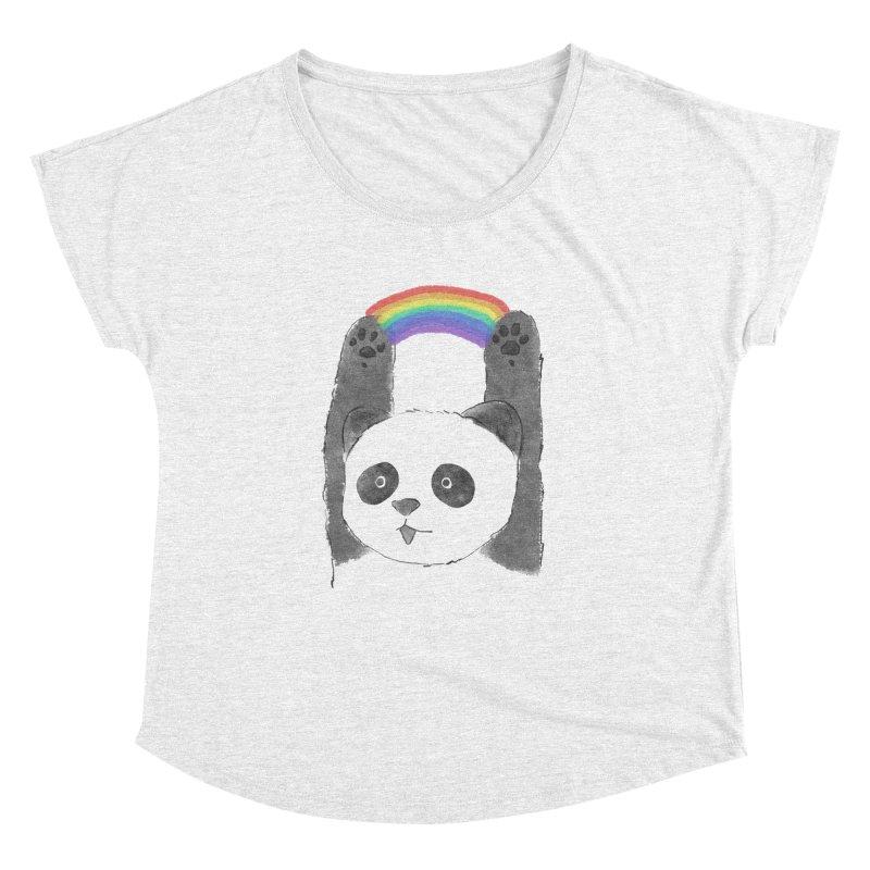 Panda Beam Women's Dolman by tipsyeyes's Artist Shop