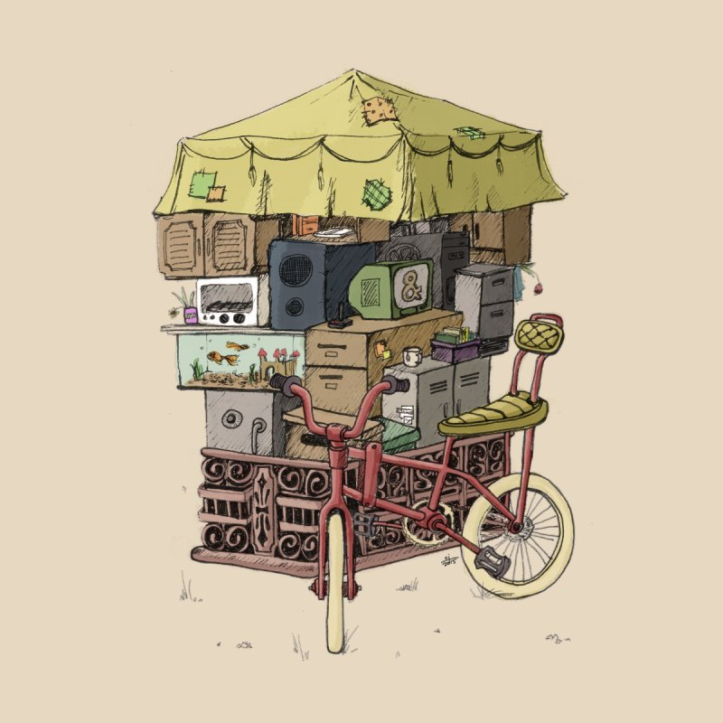 Pedicab by tipsyeyes's Artist Shop