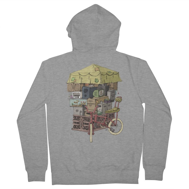 Pedicab Women's Zip-Up Hoody by tipsyeyes's Artist Shop