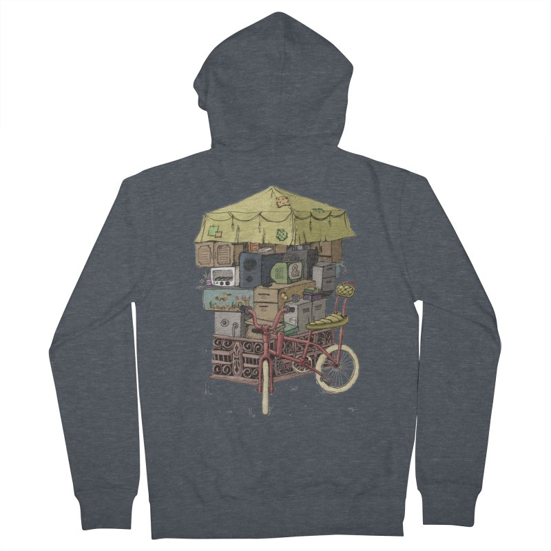 Pedicab Men's Zip-Up Hoody by tipsyeyes's Artist Shop