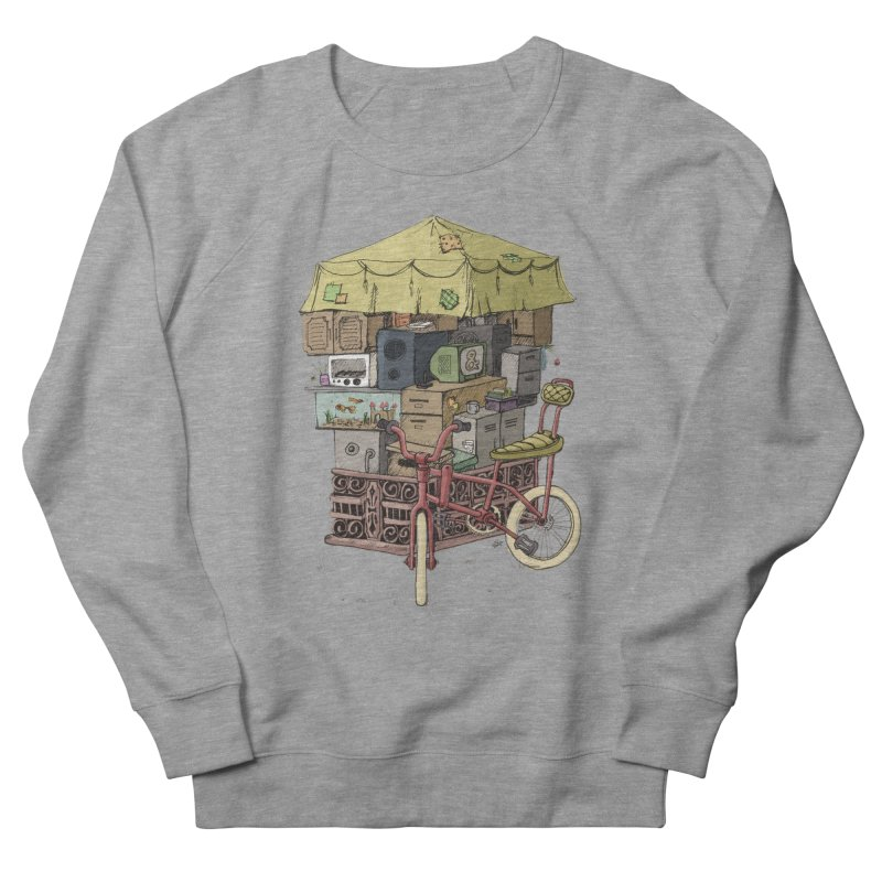 Pedicab Men's Sweatshirt by tipsyeyes's Artist Shop