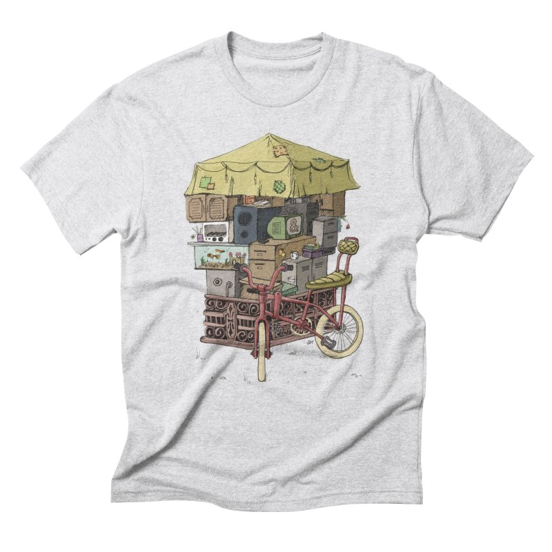 Pedicab Men's Triblend T-Shirt by tipsyeyes's Artist Shop