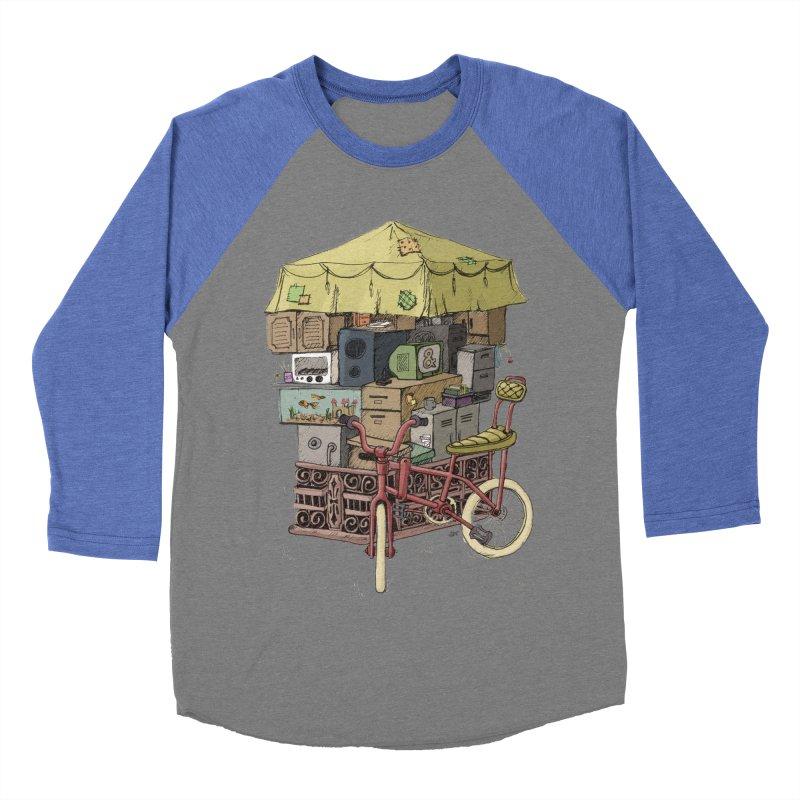 Pedicab Men's Baseball Triblend T-Shirt by tipsyeyes's Artist Shop