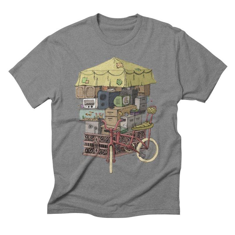 Pedicab Men's Triblend T-shirt by tipsyeyes's Artist Shop