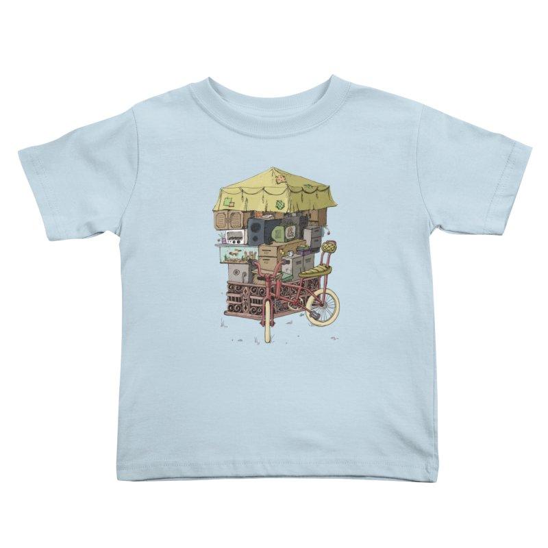 Pedicab Kids Toddler T-Shirt by tipsyeyes's Artist Shop