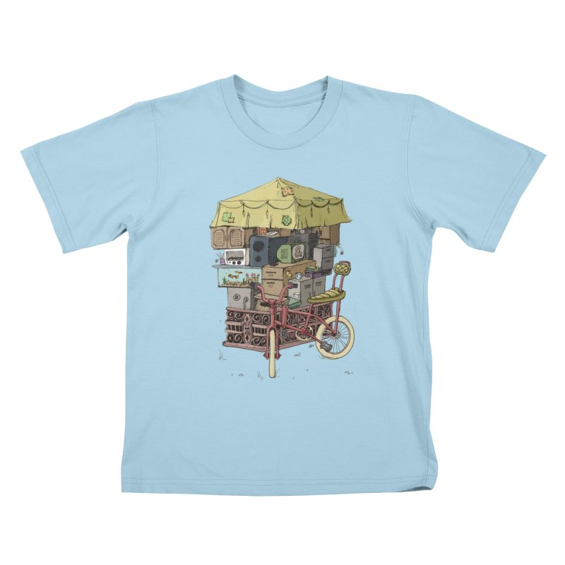 Pedicab Kids T-Shirt by tipsyeyes's Artist Shop