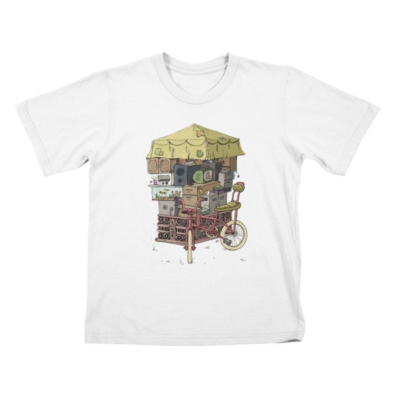 Pedicab Kids T-Shirt by tipsyeyes's Artist Shop
