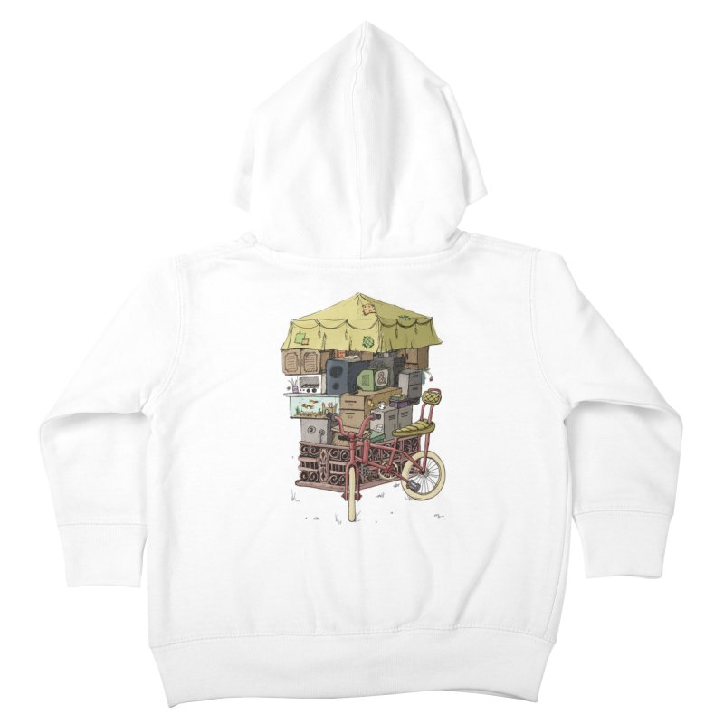Pedicab Kids Toddler Zip-Up Hoody by tipsyeyes's Artist Shop