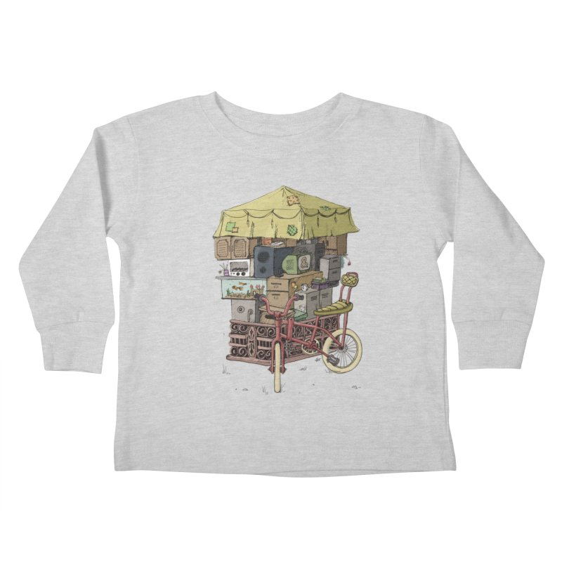 Pedicab Kids Toddler Longsleeve T-Shirt by tipsyeyes's Artist Shop