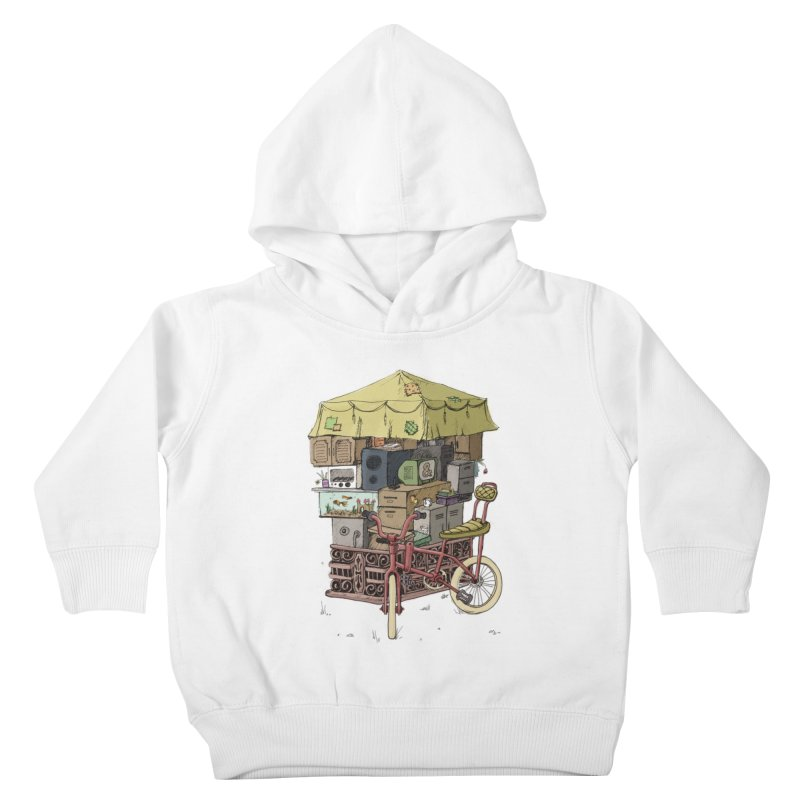 Pedicab Kids Toddler Pullover Hoody by tipsyeyes's Artist Shop