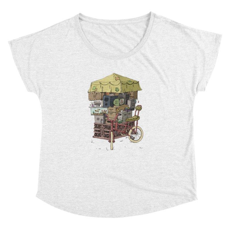 Pedicab Women's Dolman by tipsyeyes's Artist Shop