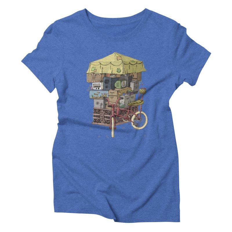Pedicab Women's Triblend T-shirt by tipsyeyes's Artist Shop