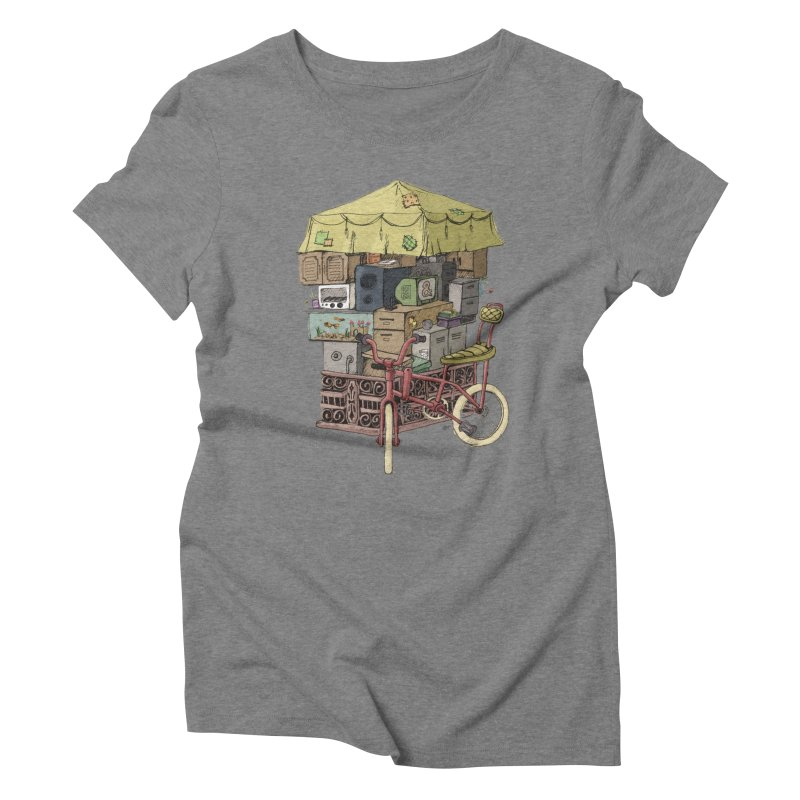 Pedicab Women's Triblend T-Shirt by tipsyeyes's Artist Shop