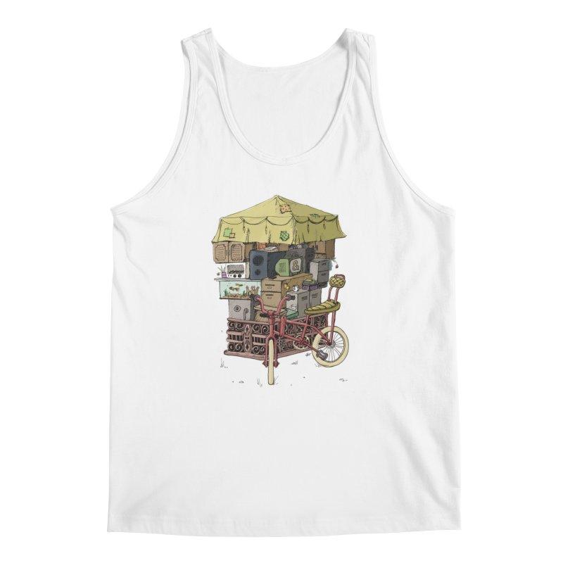 Pedicab Men's Tank by tipsyeyes's Artist Shop