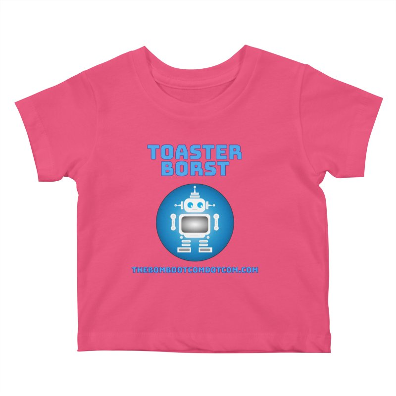 Toaster Borst a TV Robot Kids Baby T-Shirt by thebombdotcomdotcom.com