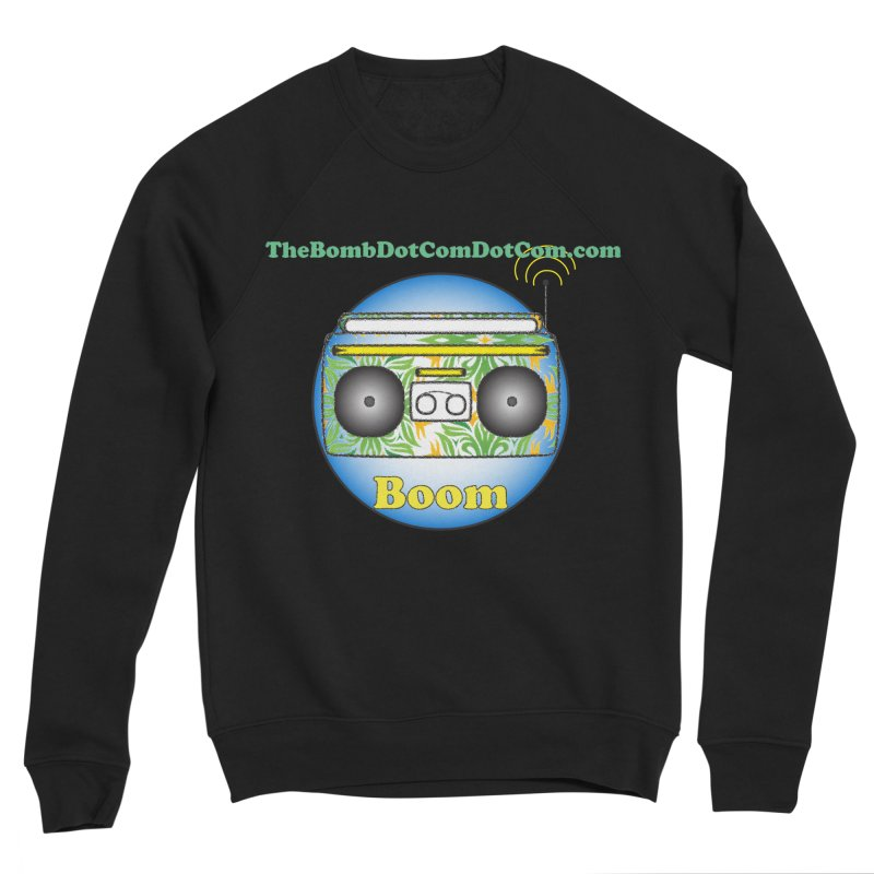 "Isaac Carlin ""Boom"" Women's Sponge Fleece Sweatshirt by thebombdotcomdotcom.com"