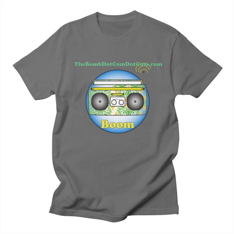 "Isaac Carlin ""Boom"" Men's T-Shirt by thebombdotcomdotcom.com"
