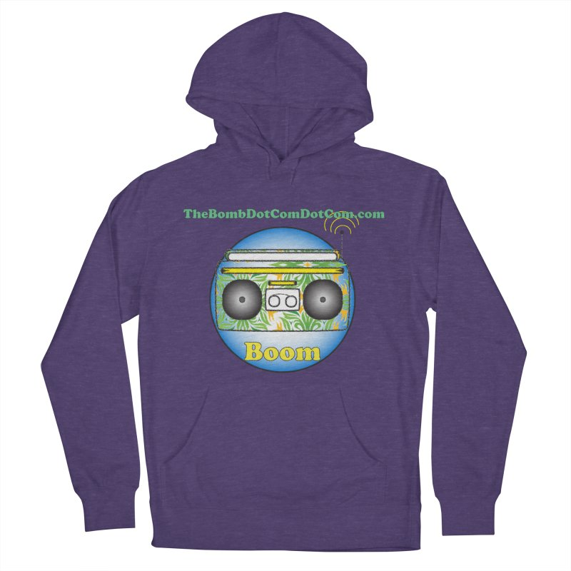 """Isaac Carlin """"Boom"""" Women's French Terry Pullover Hoody by thebombdotcomdotcom.com"""