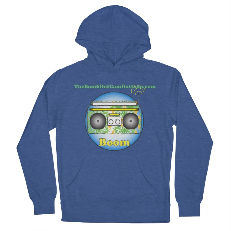 """Isaac Carlin """"Boom"""" Men's French Terry Pullover Hoody by thebombdotcomdotcom.com"""