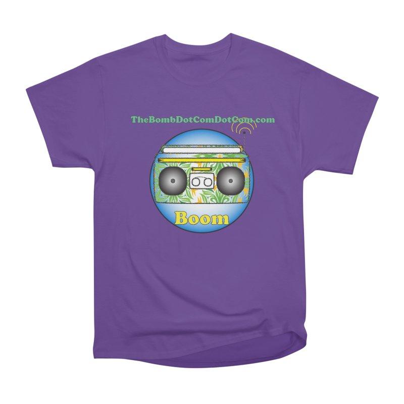 "Isaac Carlin ""Boom"" Men's Heavyweight T-Shirt by thebombdotcomdotcom.com"