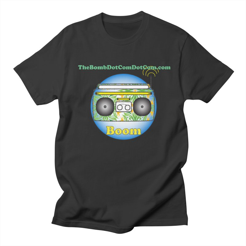 "Isaac Carlin ""Boom"" Women's Regular Unisex T-Shirt by thebombdotcomdotcom.com"