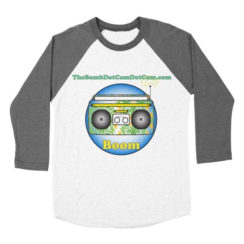 "Isaac Carlin ""Boom"" Women's Baseball Triblend Longsleeve T-Shirt by thebombdotcomdotcom.com"