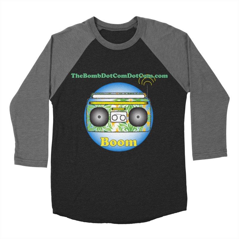 "Isaac Carlin ""Boom"" Men's Baseball Triblend Longsleeve T-Shirt by thebombdotcomdotcom.com"