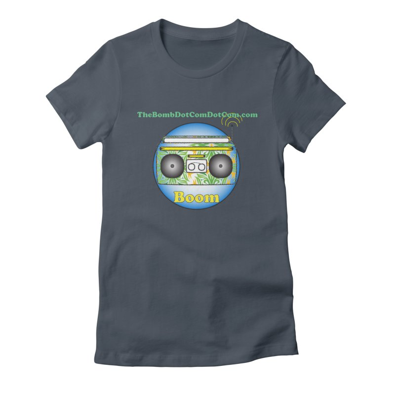 "Isaac Carlin ""Boom"" Women's T-Shirt by thebombdotcomdotcom.com"