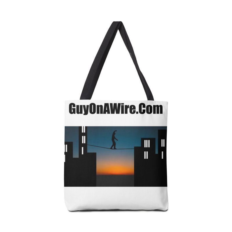 GuyOnAWire.com for Jamie Gagnon Accessories Tote Bag Bag by thebombdotcomdotcom.com