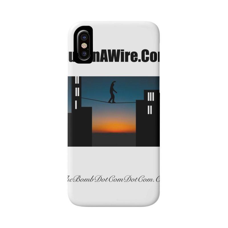 GuyOnAWire.com for Jamie Gagnon Accessories Phone Case by thebombdotcomdotcom.com