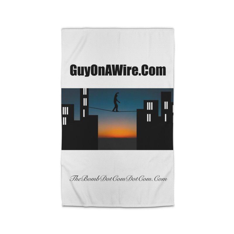 GuyOnAWire.com for Jamie Gagnon Home Rug by thebombdotcomdotcom.com