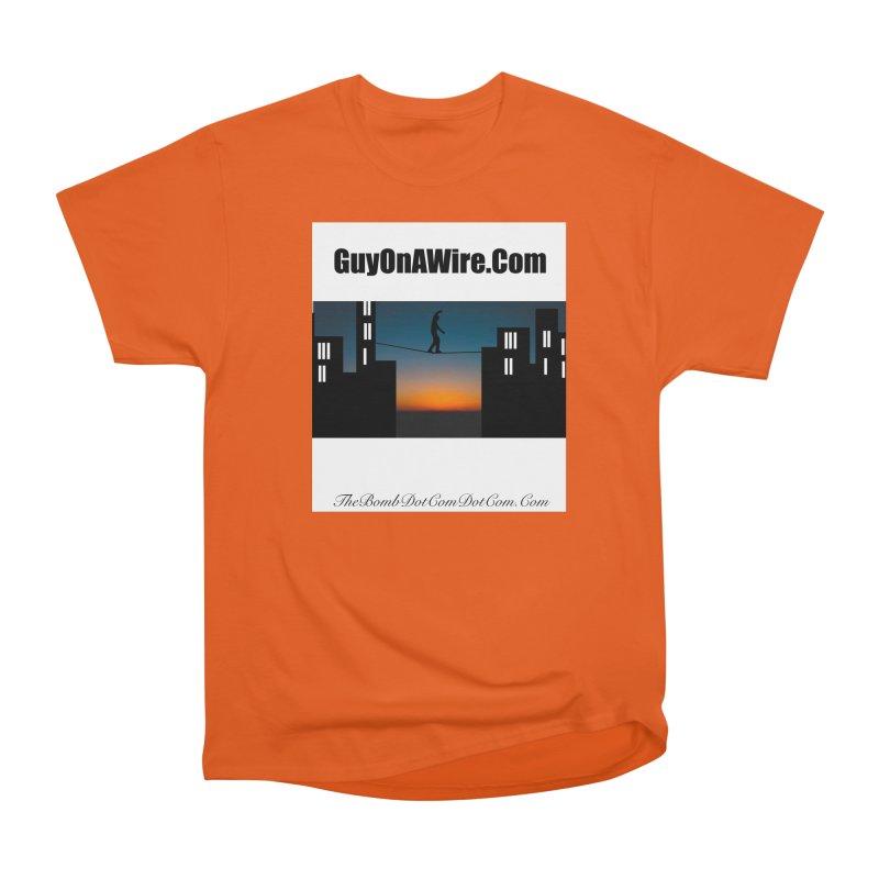 GuyOnAWire.com for Jamie Gagnon Women's Heavyweight Unisex T-Shirt by thebombdotcomdotcom.com