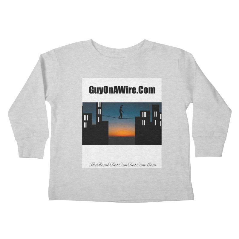 GuyOnAWire.com for Jamie Gagnon Kids Toddler Longsleeve T-Shirt by thebombdotcomdotcom.com