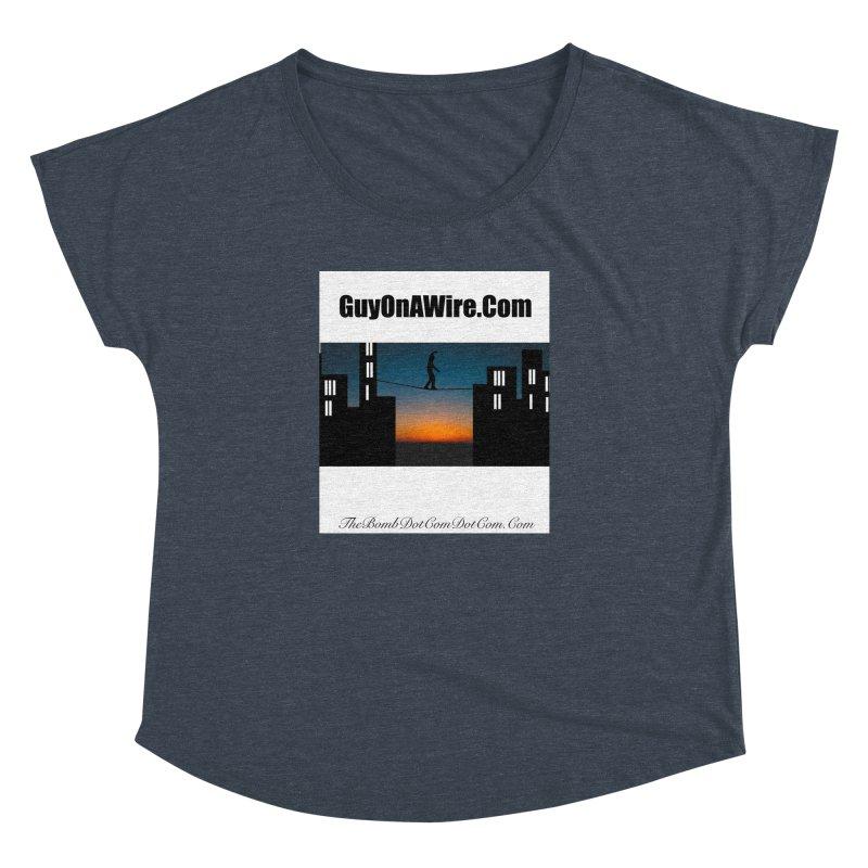 GuyOnAWire.com for Jamie Gagnon Women's Dolman Scoop Neck by thebombdotcomdotcom.com